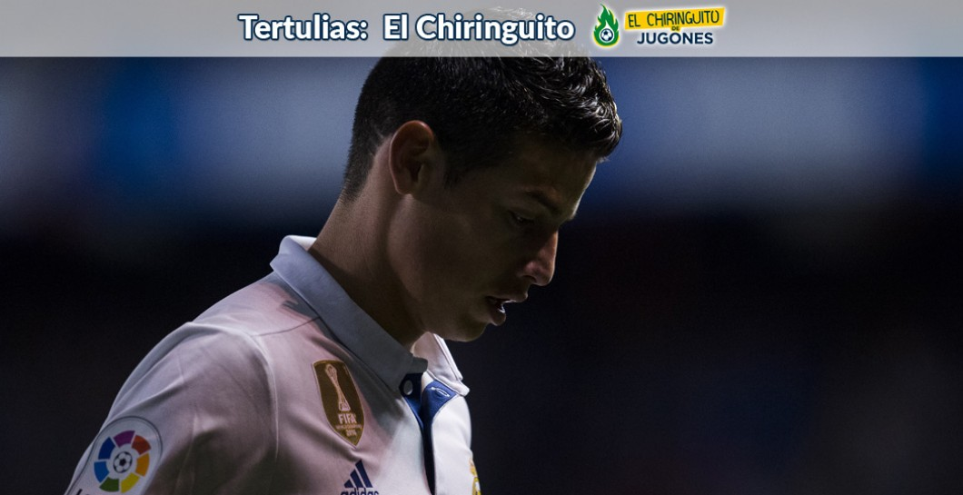 James Rodríguez, El Chiringuito