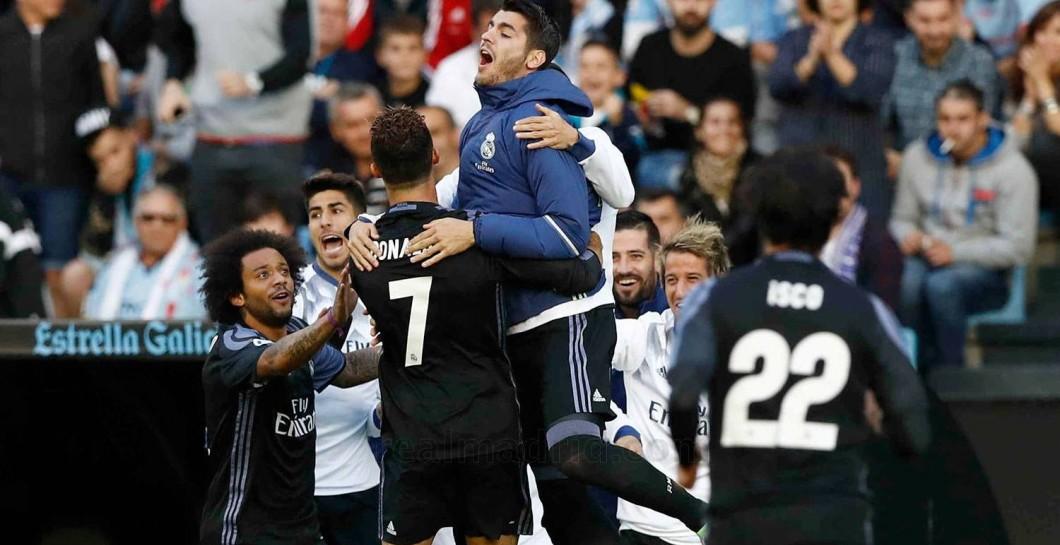 Celebración del Real Madrid
