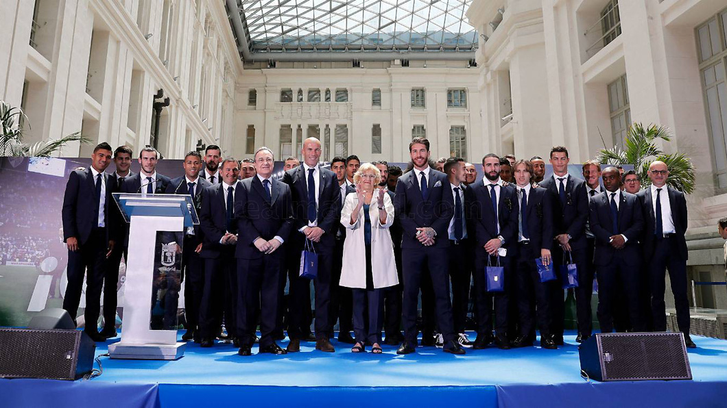 Real Madrid, Manuela Carmena