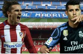 Montaje Griezmann, Morata, Manchester United y Real Madrid