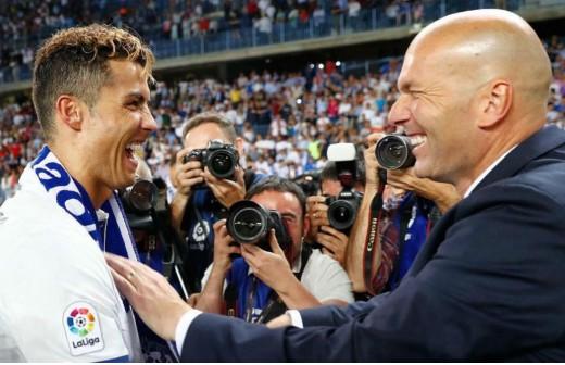 Zidane ya solucionó dos 'casos' como el de Cristiano