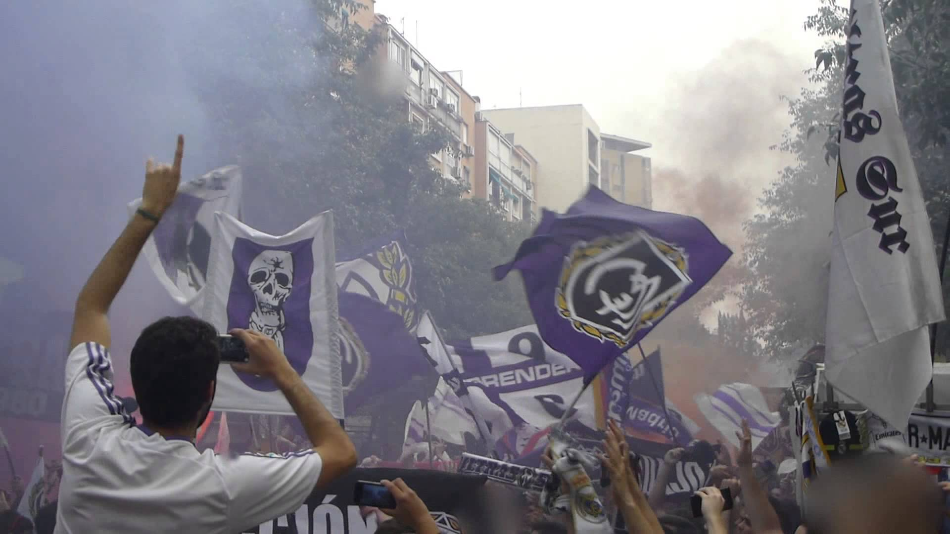 Ultras Sur, Real Madrid