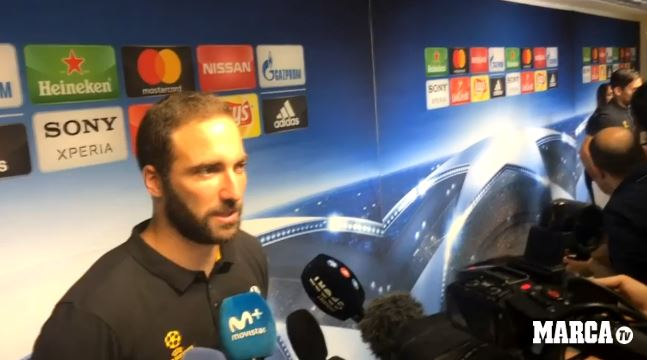 Gonzalo Higuaín en Open Media Day