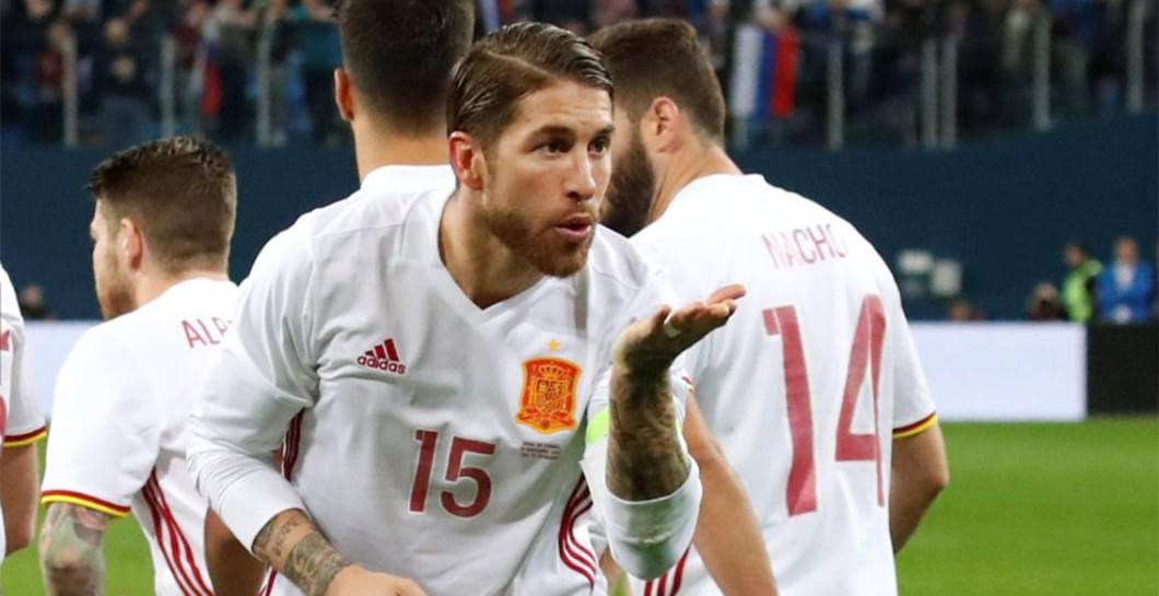 Ramosning 2 ta goli ham Ispaniyaga Rossiya ustida g'alaba keltirmadi
