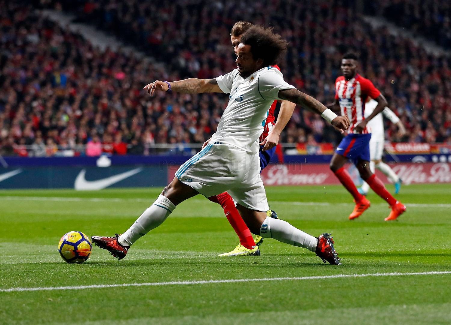 Marcelo, Atlético, Real Madrid, La Liga
