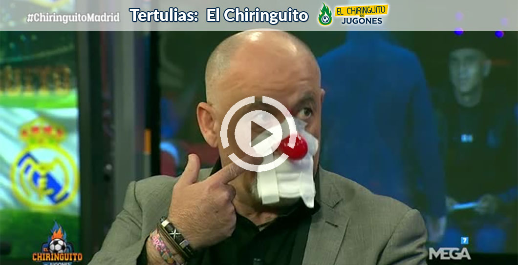 Alfredo Duro, El Chiringuito, video