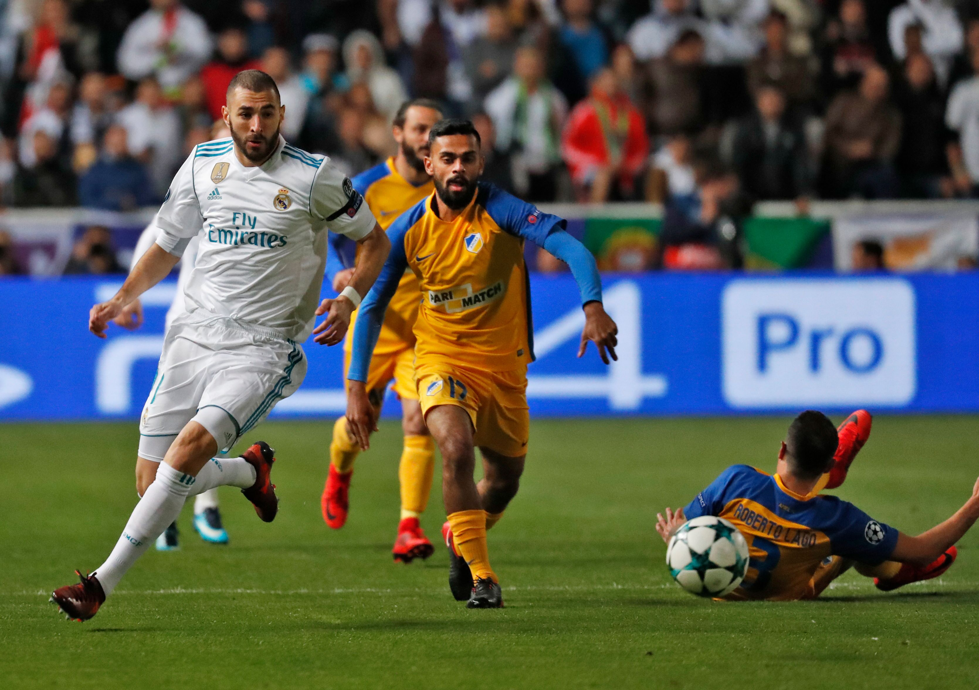 APOEL vs Real Madrid
