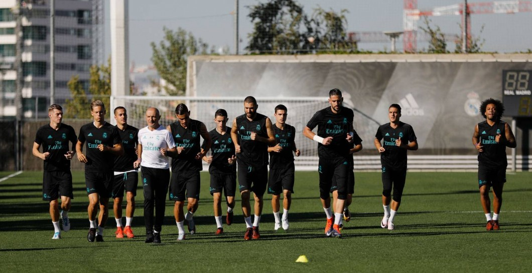 Entrenamiento, Real Madrid