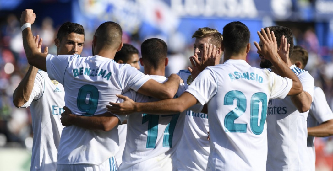Real Madrid gol al Getafe
