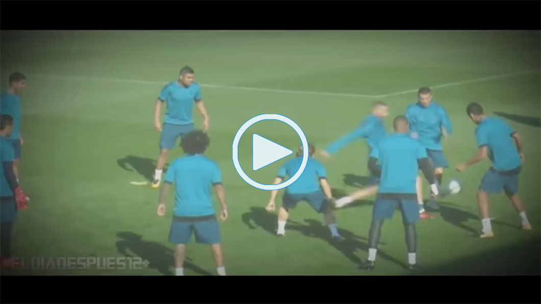 Entrenamiento, Real Madrid, Video