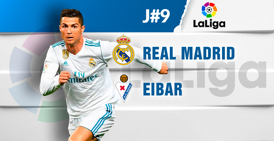 Directo Real Madrid-Eibar