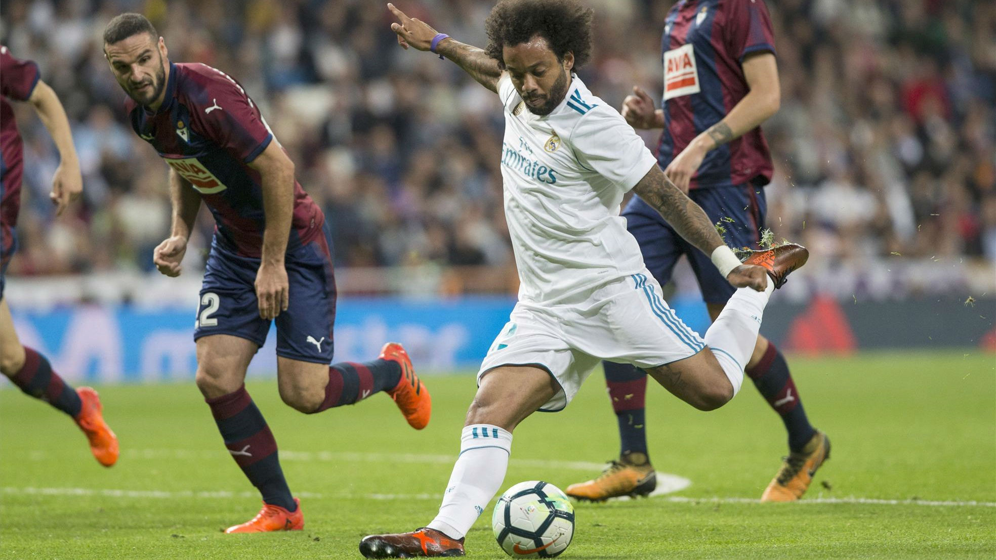 Marcelo, Real Madrid, Eibar, gol