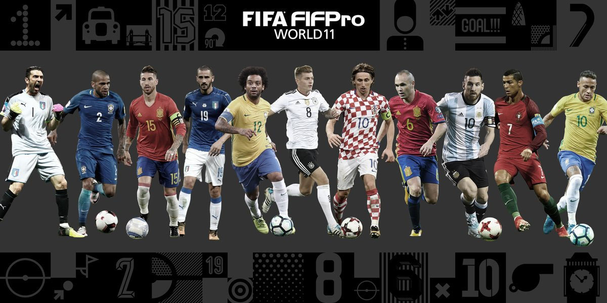 El once ideal de la FIFA