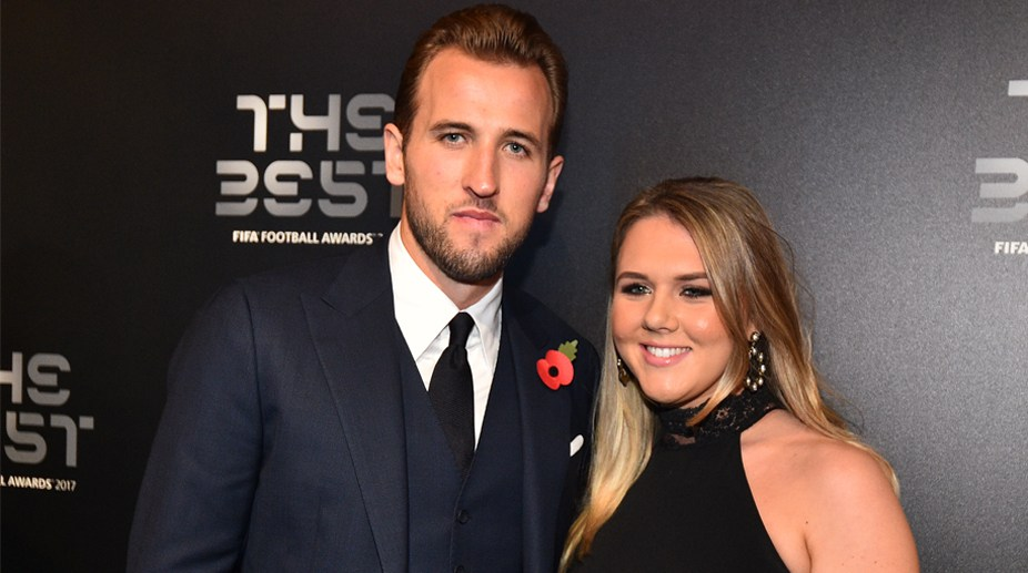 Harry Kane en la gala de 'The Best'