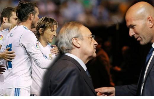 ¿Qué les dijo Florentino a los jugadores en el vestuario?
