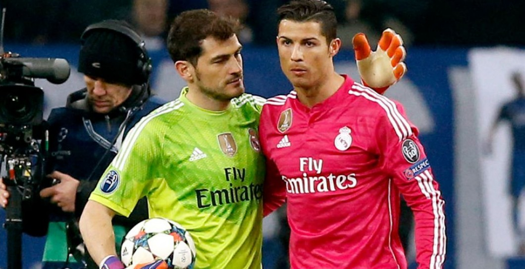 Casillas - Cristiano