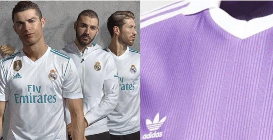 Salen a la luz las camisetas del R.Madrid de la próxima temporada ... 9bc1ac94ecd25