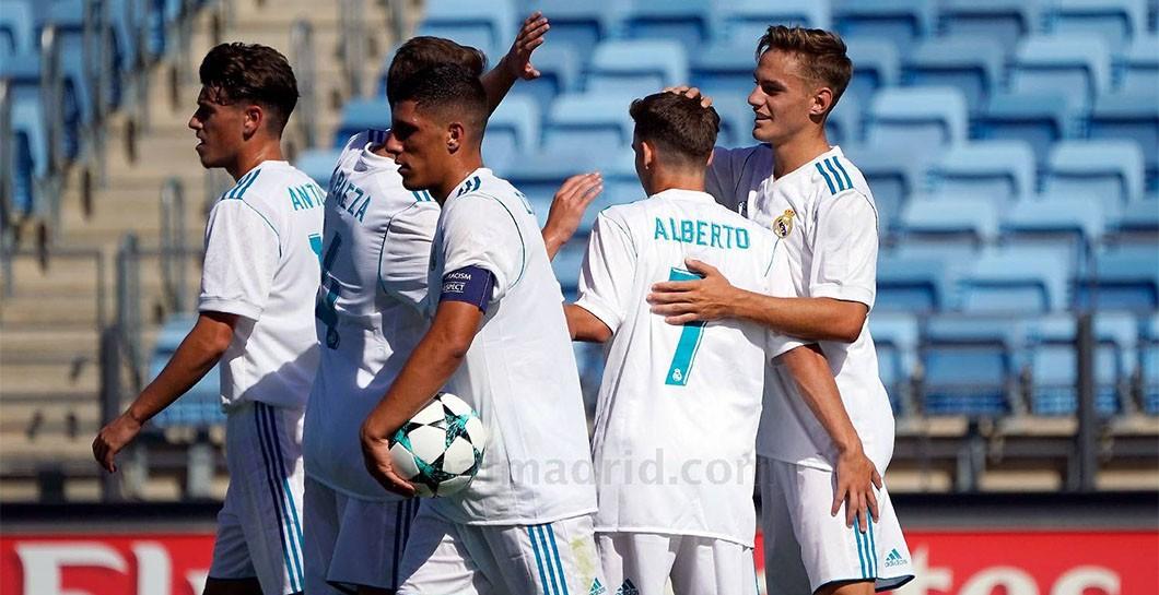 Real Madrid Juvenil A - Tottenham Hotspur F.C. U-19 1:1