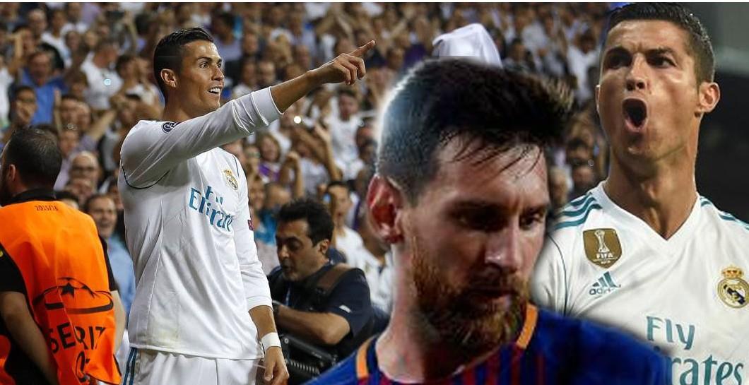 Montaje de Leo Messi y Cristiano Ronaldo