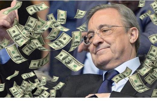 El lustro de oro del Real Madrid llena las arcas del club