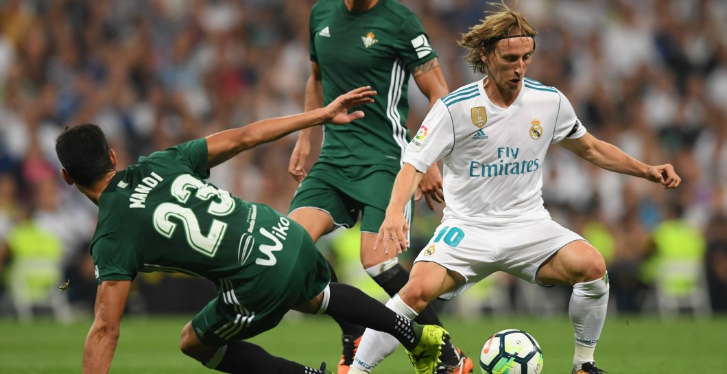 Modric vs Real Betis