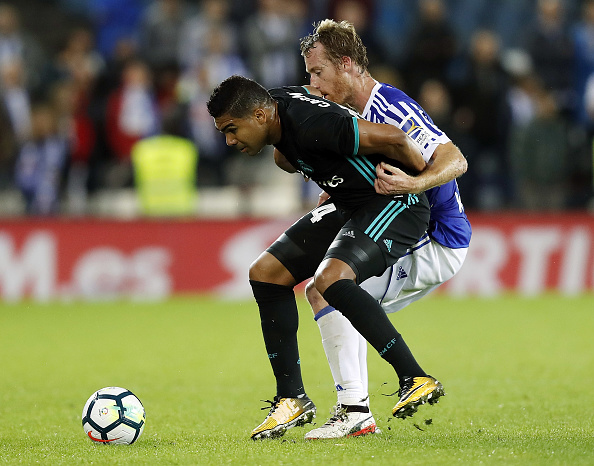 Casemiro vs Real Sociedad