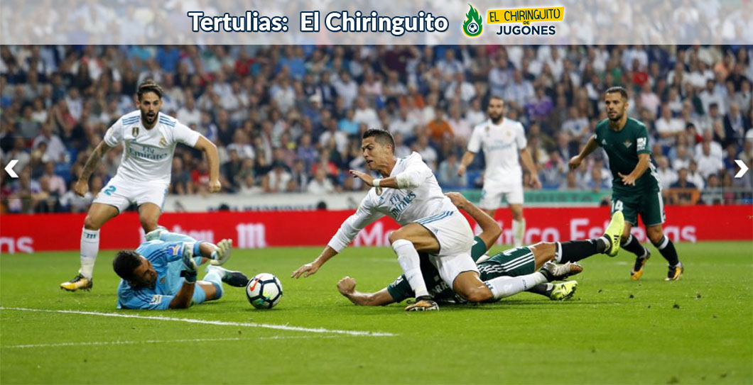 Real Madrid, Betis, El Chiringuito