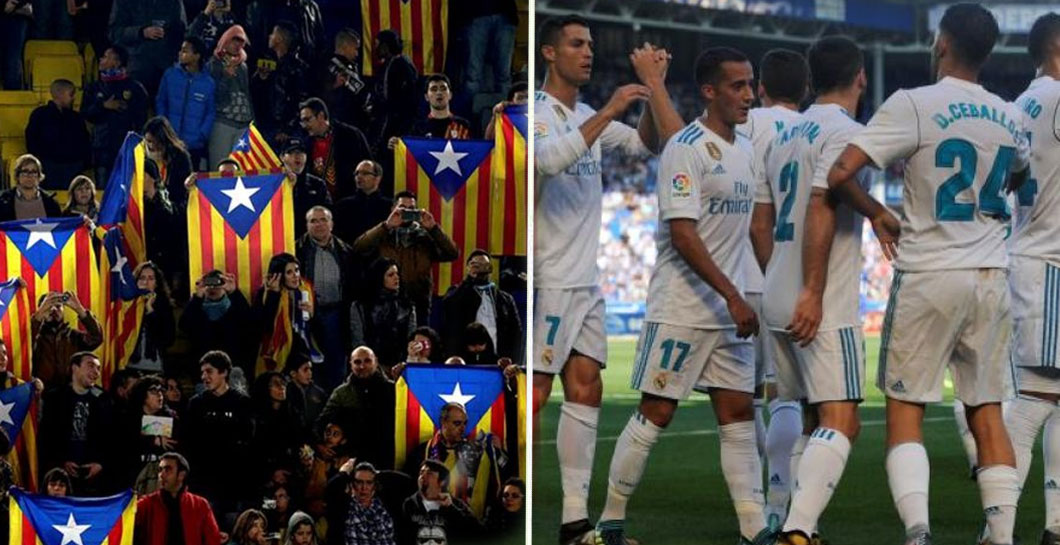 Montaje independencia y Real Madrid