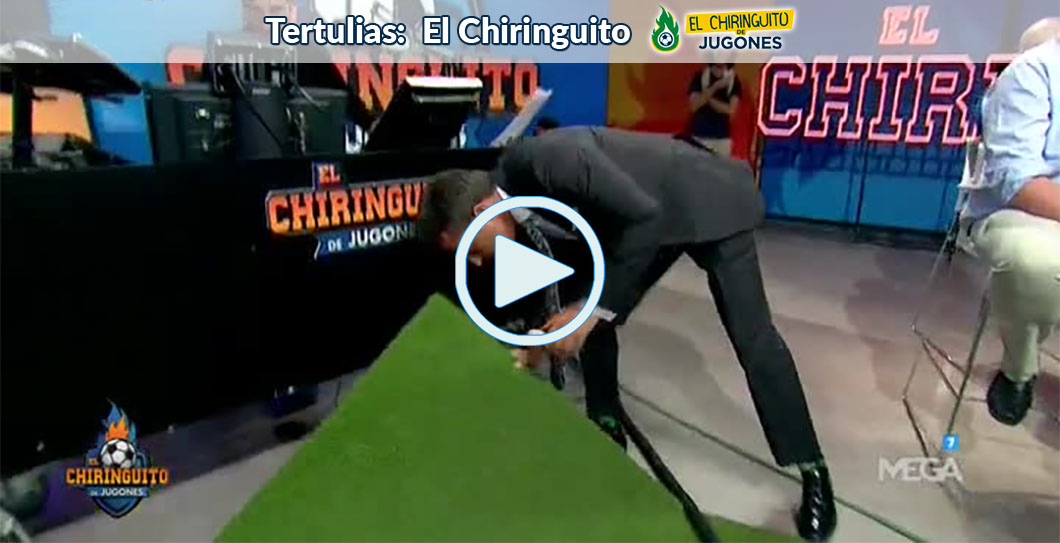 Cristóbal Soria, El Chiringuito, video