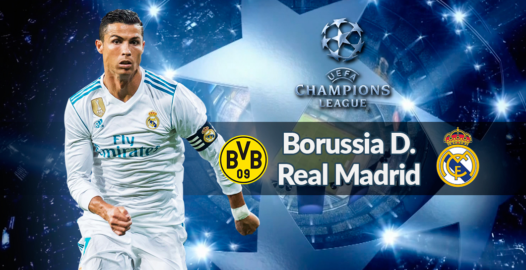 Directo Dortmund-Real Madrid