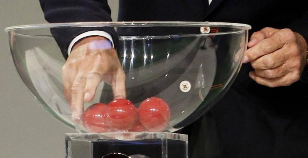 Sorteo y bombo Copa del Rey