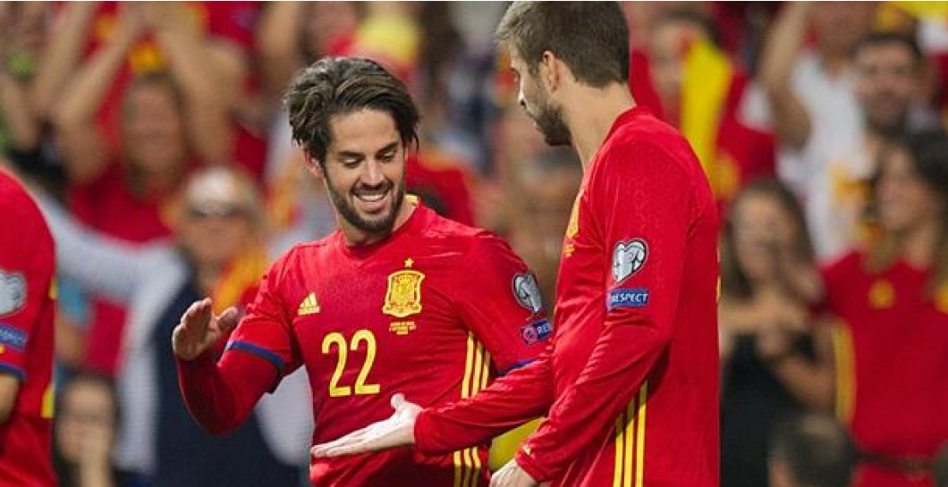 Image result for Isco y Pique 2017