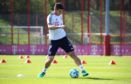 El Bayern 'pica' al Real Madrid con James