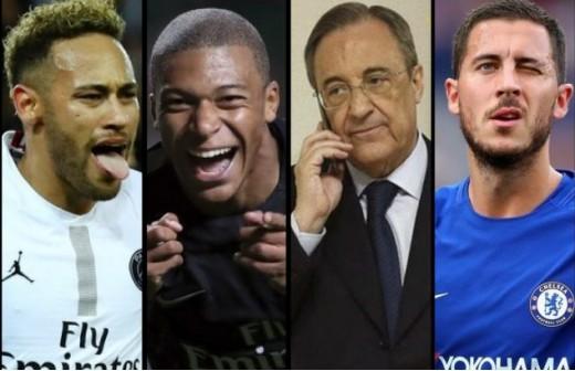 Hazard puede ser la llave del fichaje de Neymar o Mbappé