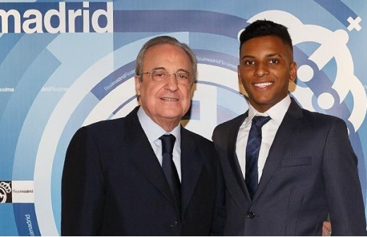 Noticia DC: Rodrygo tranquiliza al Madrid por el Santos