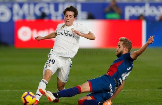 El piropo de Odriozola tras el golazo de Bale