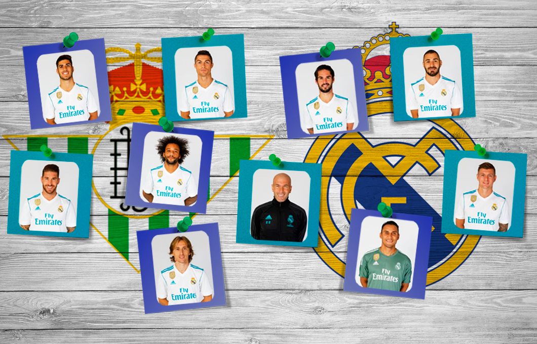 Notas Betis-Real Madrid