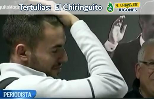 Así fue la reacción de Ceballos tras los insultos que escuchó en el Villamarín