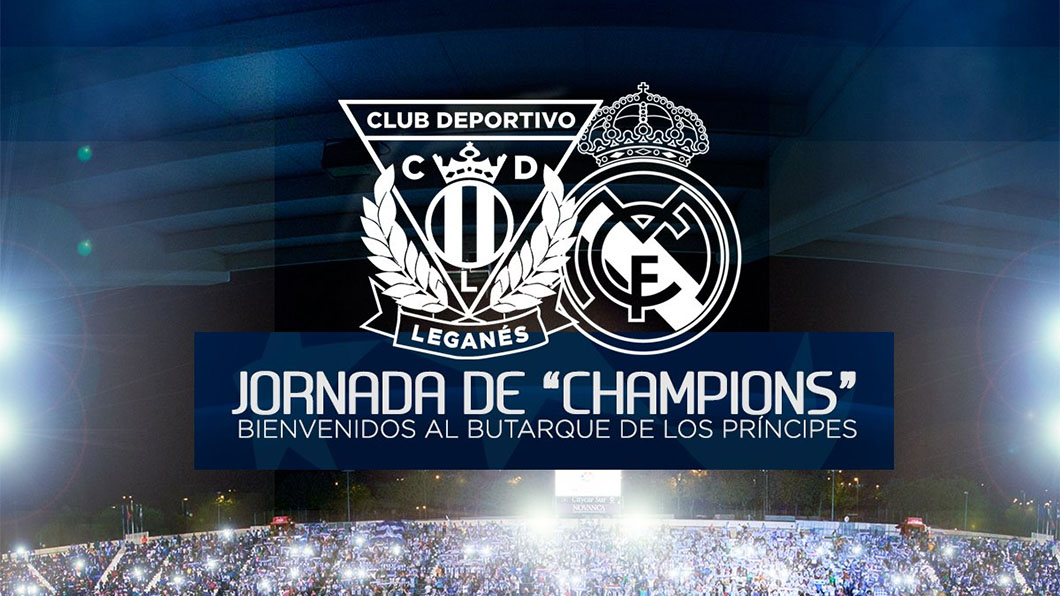Leganés, Real Madrid, cartel