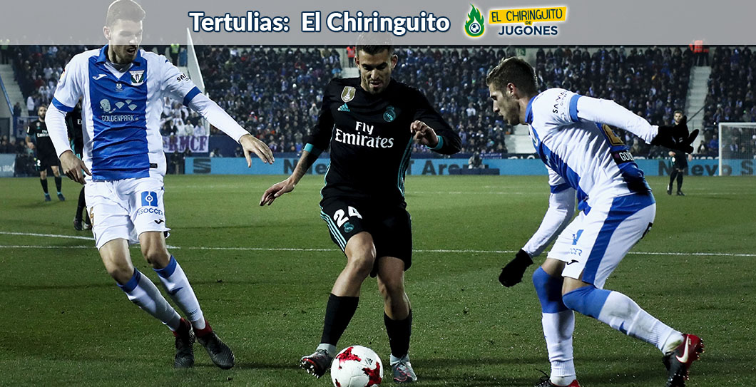 Leganés, Real Madrid, El Chiringuito