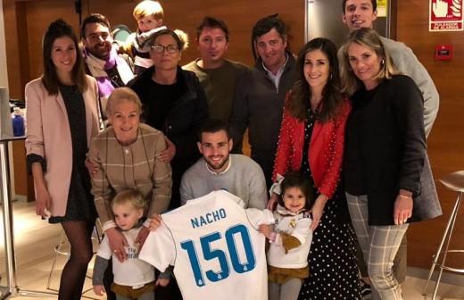 El especial agradecimiento de Nacho por sus 150 partidos