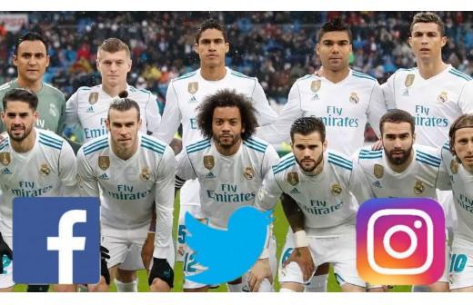Así ha sido el día de los jugadores del R.Madrid en redes sociales