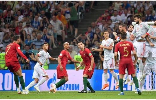 El último duelo entre España y Cristiano?por el momento