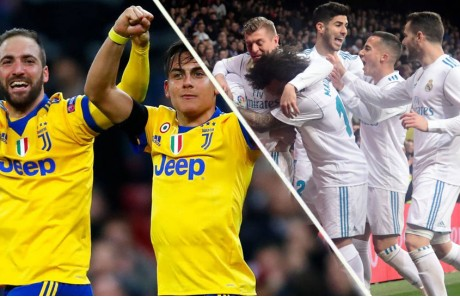 Real Madrid vs Juventus de Turín