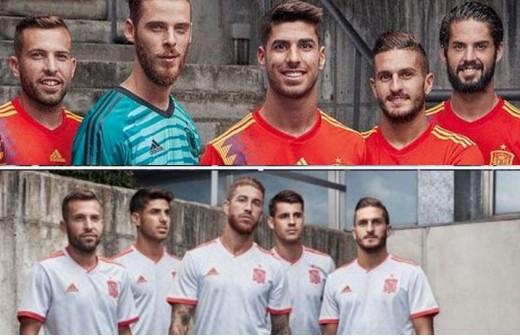 Los dorsales que llevarán los seis madridistas con España