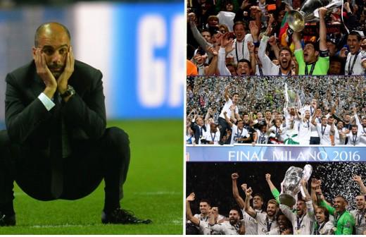 El 'palazo' histórico de un exmadridista a Guardiola...¡por Zidane!