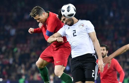 ¡Súper Cristiano! Doblete en 3 minutos para ganar a Egipto