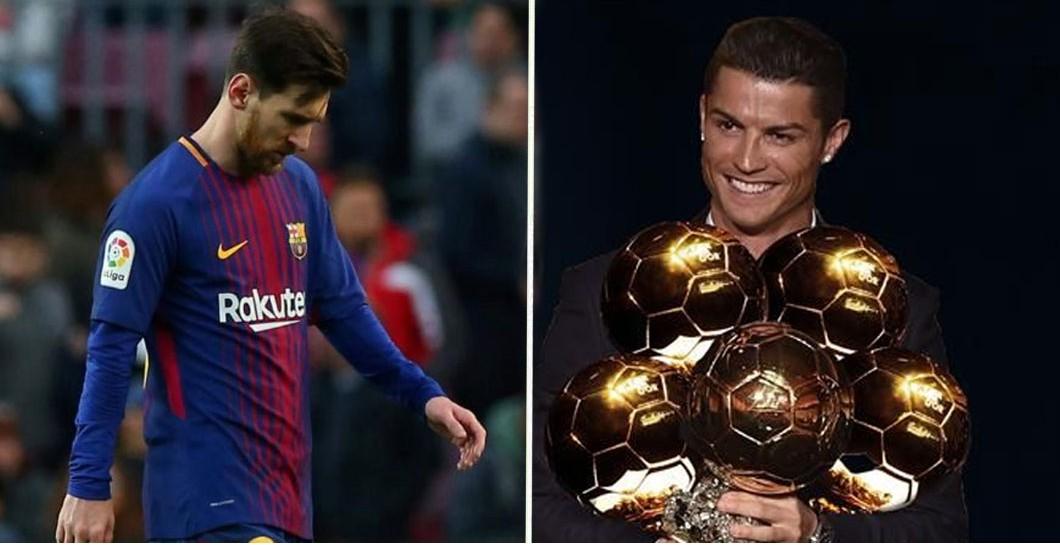 Messi no ganará más el Balón de Oro…y en 2019 será de Cristiano ... ac3e160dad41a