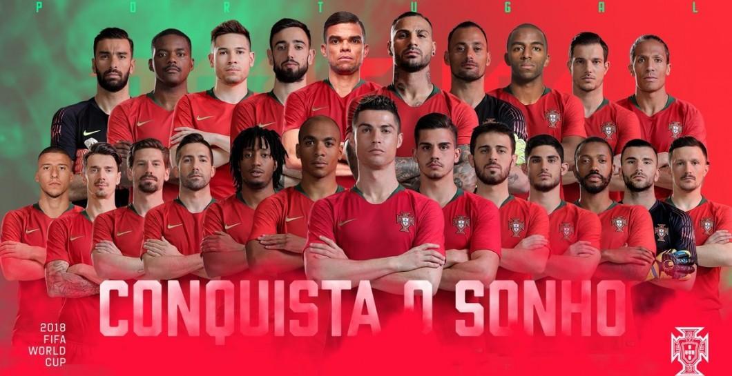 JCH-2018: Portugaliyaning Rossiyaga boradigan tarkibi aniq