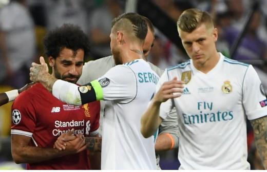 El mensaje que le envió Sergio Ramos a Salah